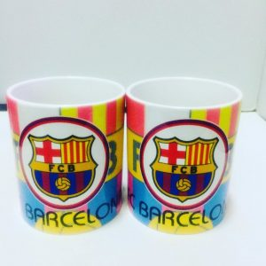 Club Branded Mugs by Ooma Studios