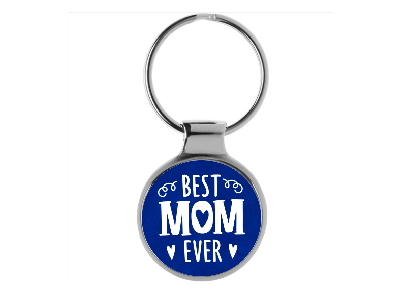 Best Mom Ever 2\u201d Acrylic Keychain